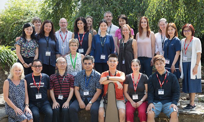 PG Cert students and staff at the ESTA Summer School 2018